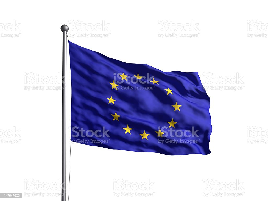 European Union (OLD) Newer version available. royalty-free stock photo