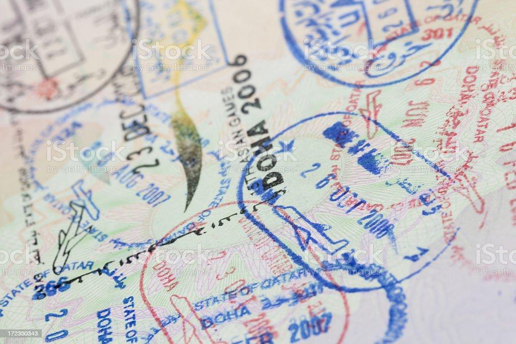 European Union Passport stock photo
