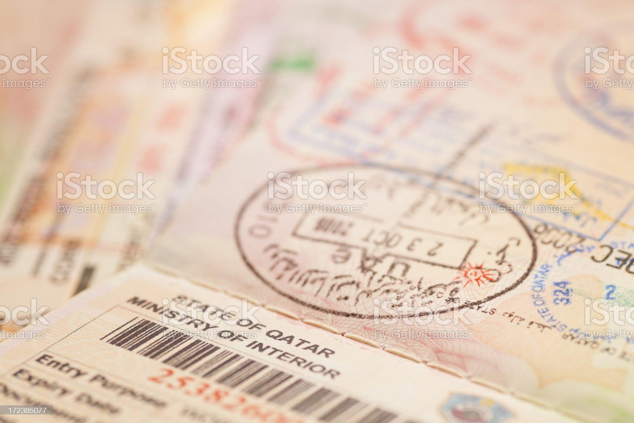 European Union Passport royalty-free stock photo