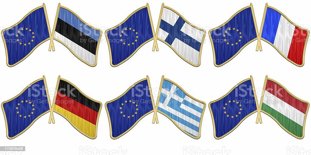 European Union #2 royalty-free stock photo