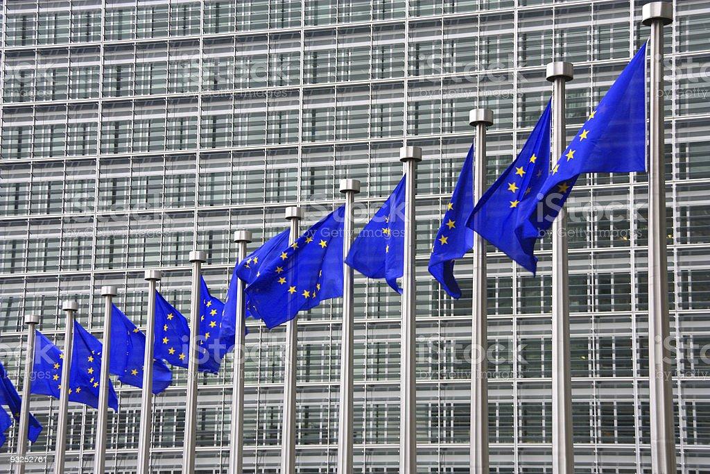 European Union royalty-free stock photo