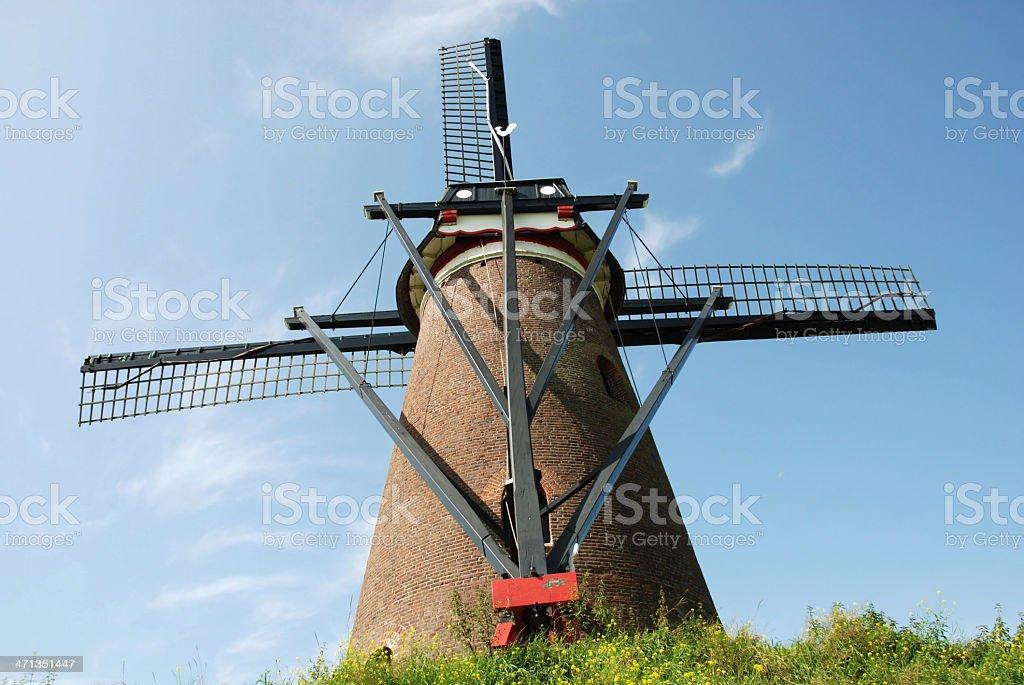 European windmill stock photo