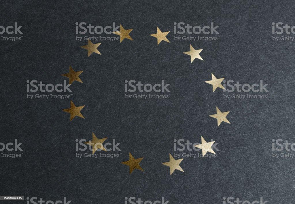 European's Stars stock photo