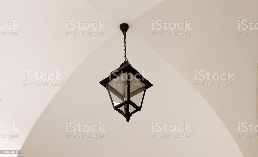 European-style chandelier stock photo