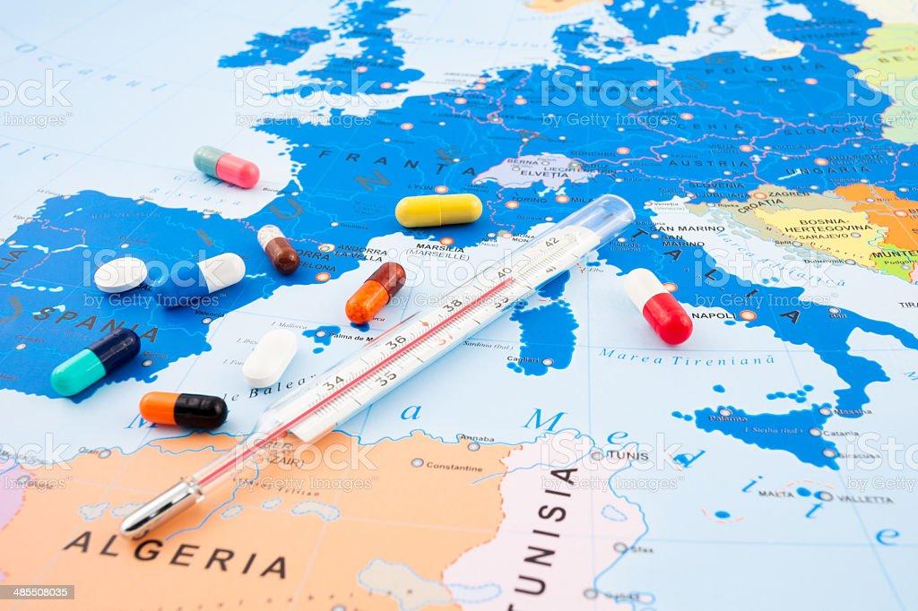 Europeean Refugee Crisis stock photo