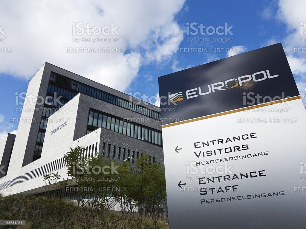 Europol Headquarter in The Hague, Den Haag. royalty-free stock photo