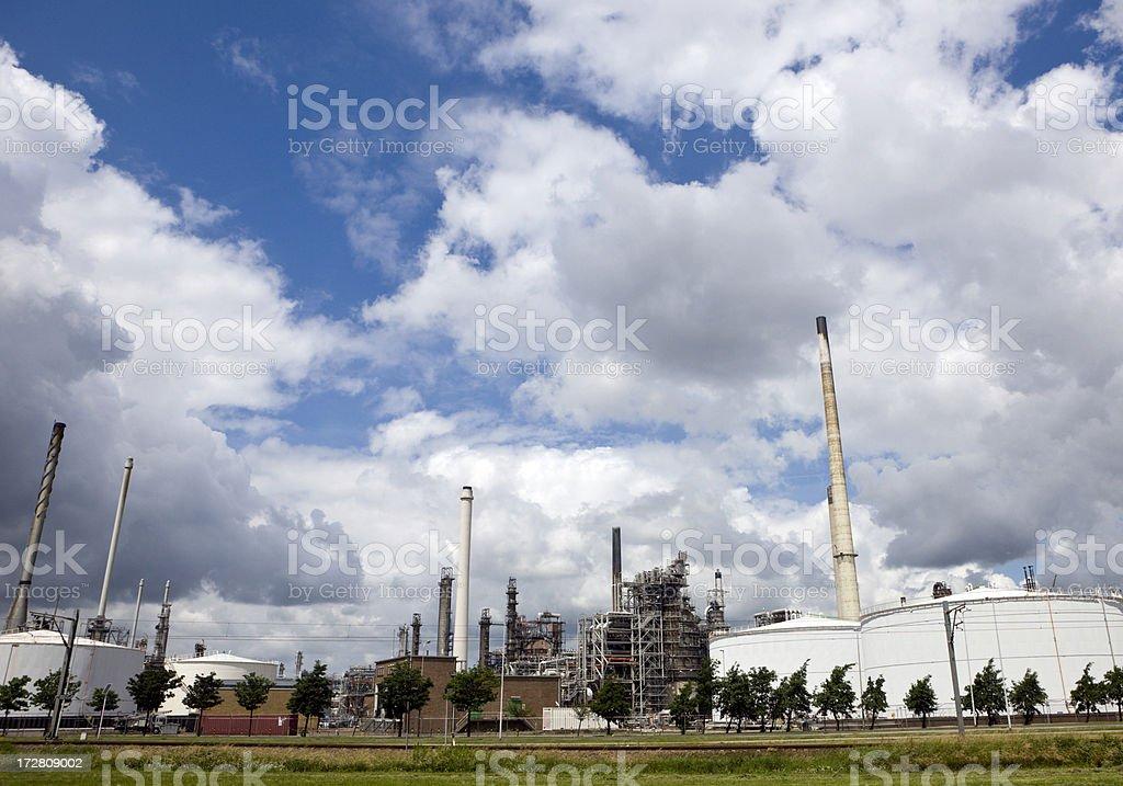 Europoort Industries stock photo