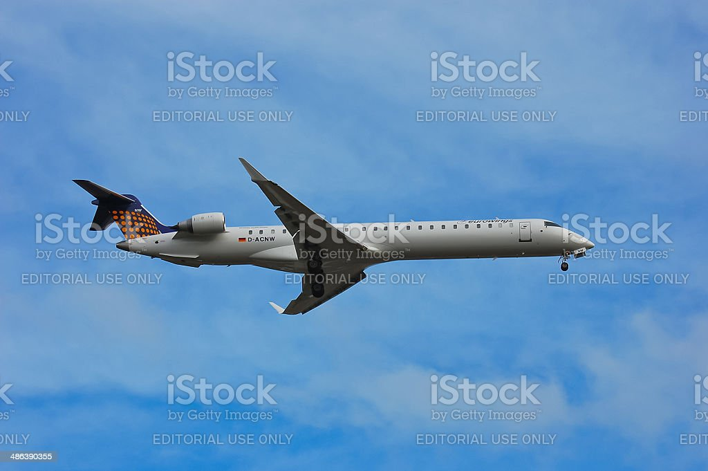 Eurowings Canadair CL-600 stock photo