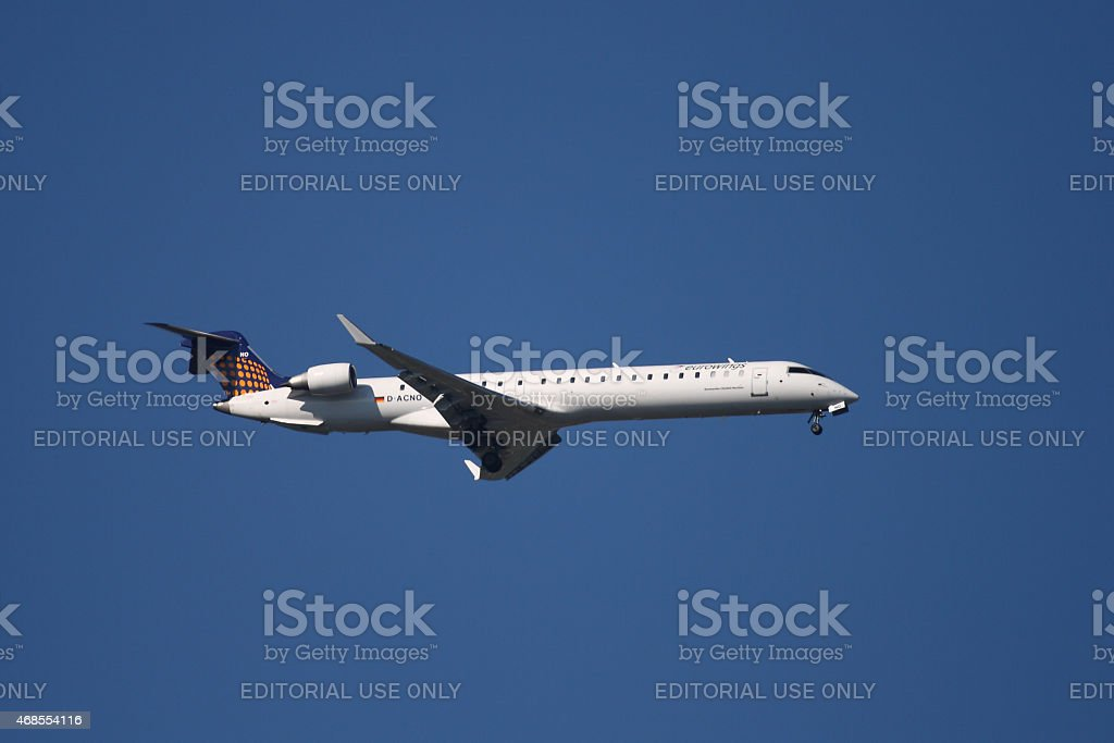 Eurowings Canadair CRJ-900 stock photo