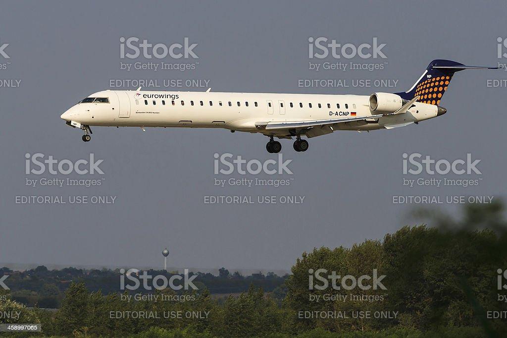 Eurowings stock photo