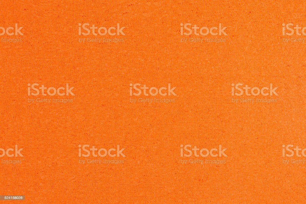 Eva foam orange stock photo
