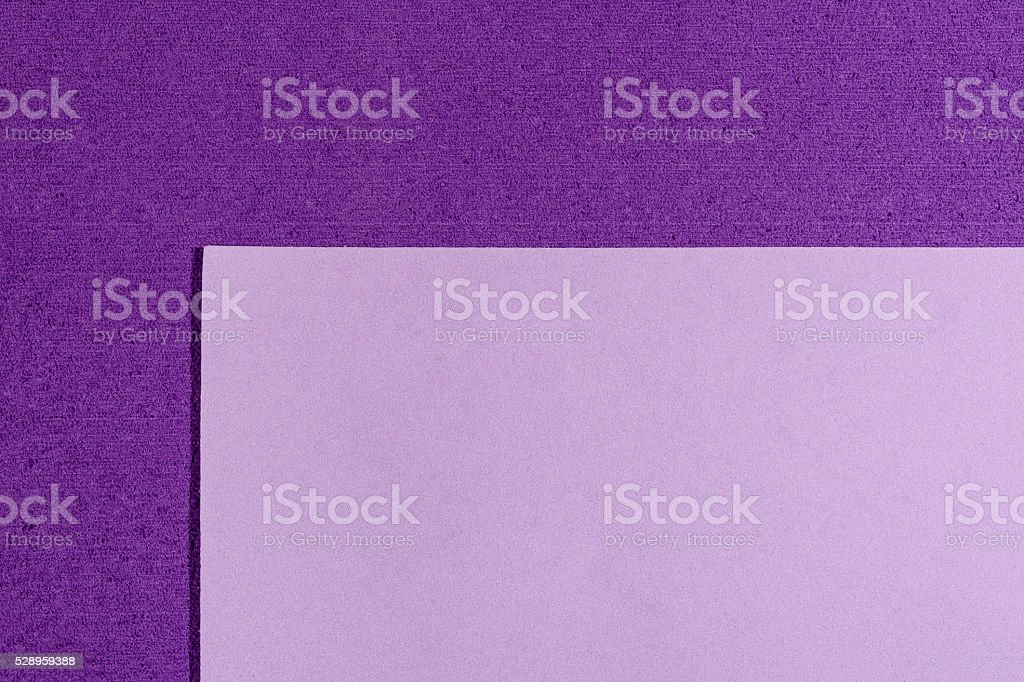 Eva foam smooth light purple on purple stock photo
