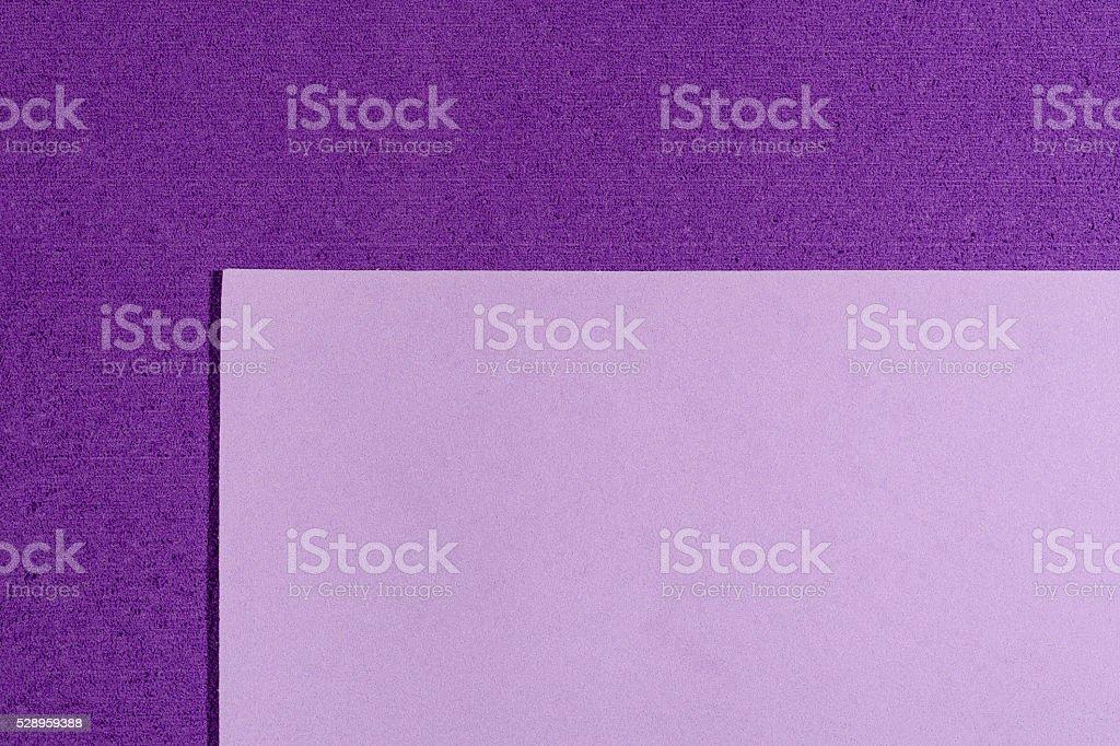 Eva foam smooth light purple on purple stock photo