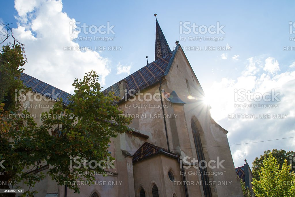 Evangelical Cathedral Sibiu royalty-free stock photo