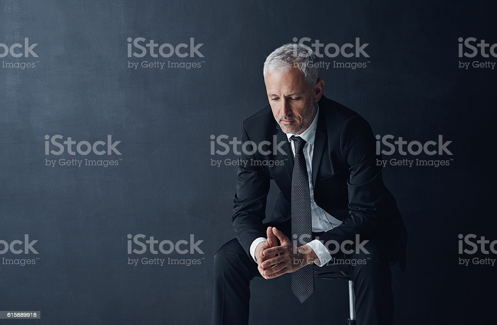 Even CEO's are susceptible to making mistakes stock photo