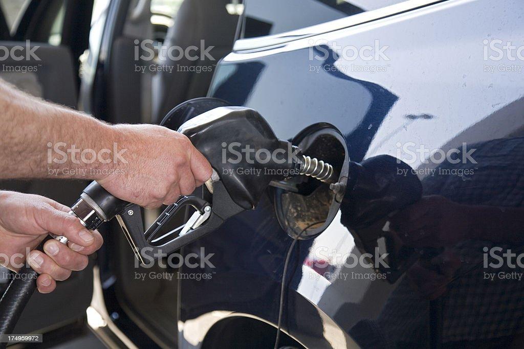 even refuel stock photo