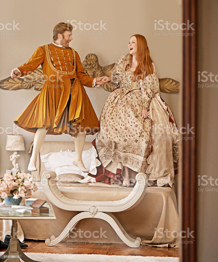 Even royalty love a frivoloity stock photo