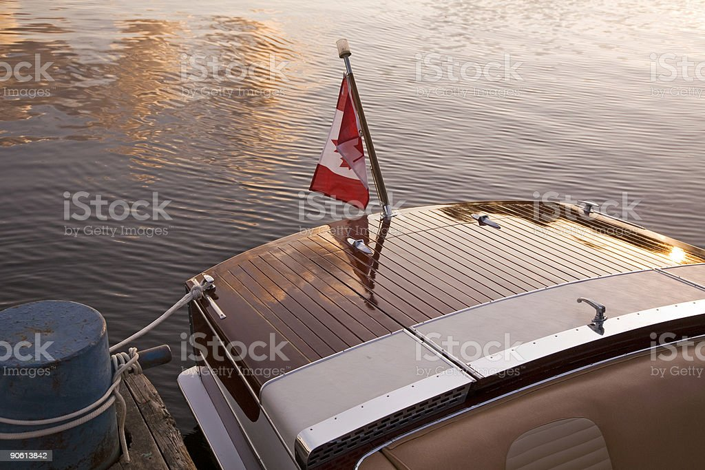Evening By The Docks royalty-free stock photo