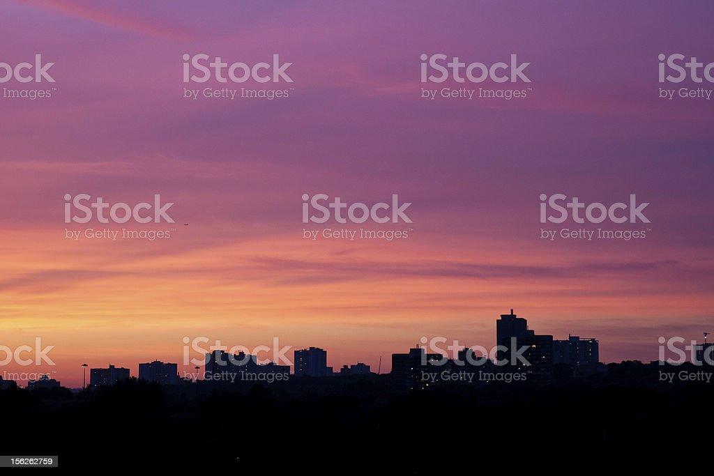 evening calm royalty-free stock photo