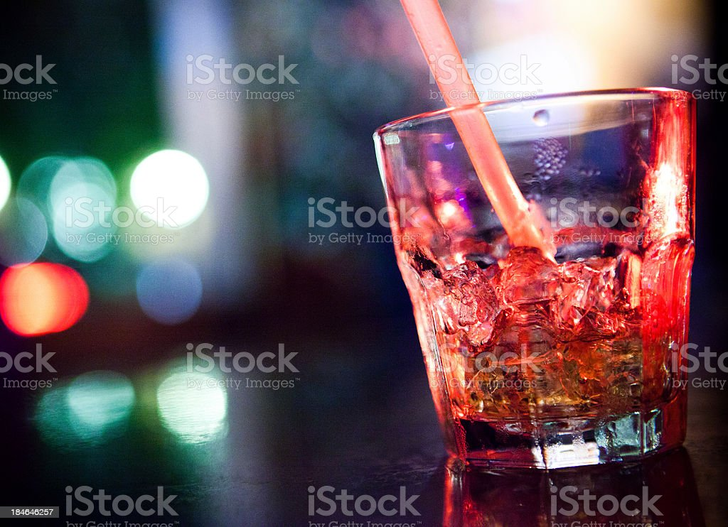 Evening cocktail royalty-free stock photo