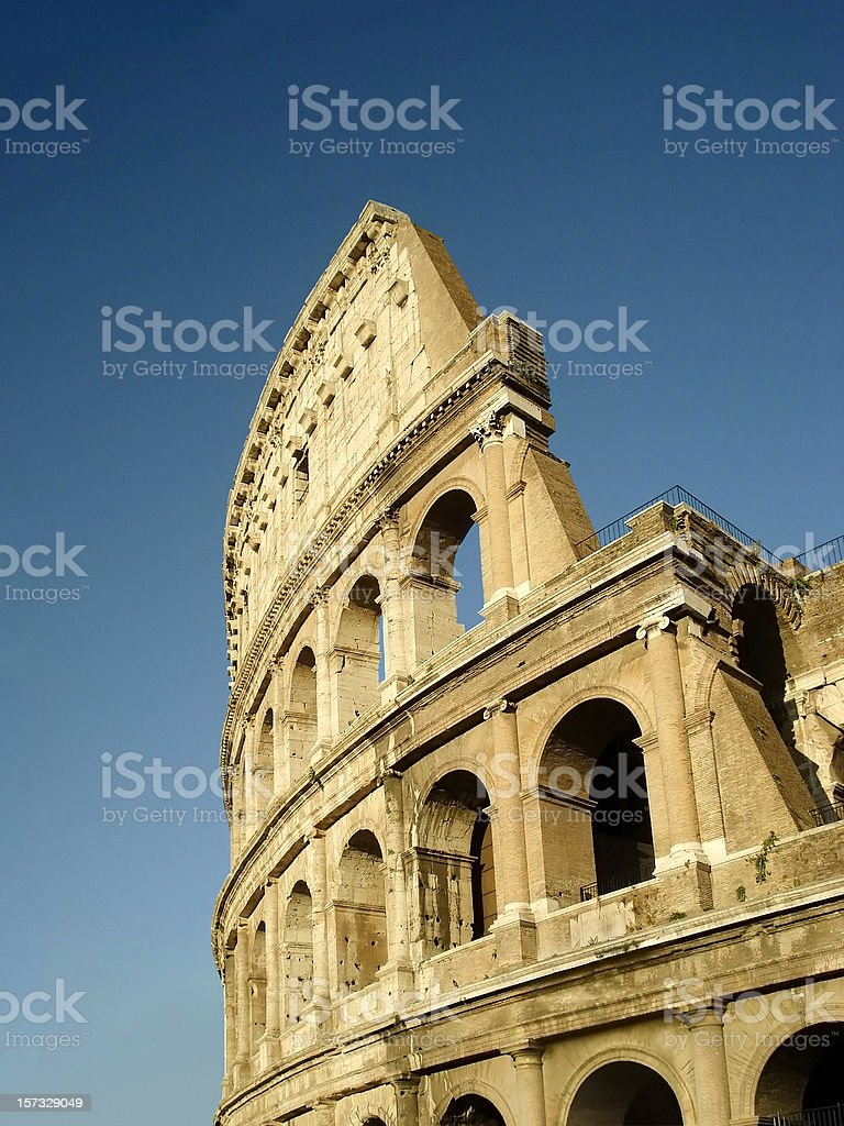 Evening Colosseum royalty-free stock photo