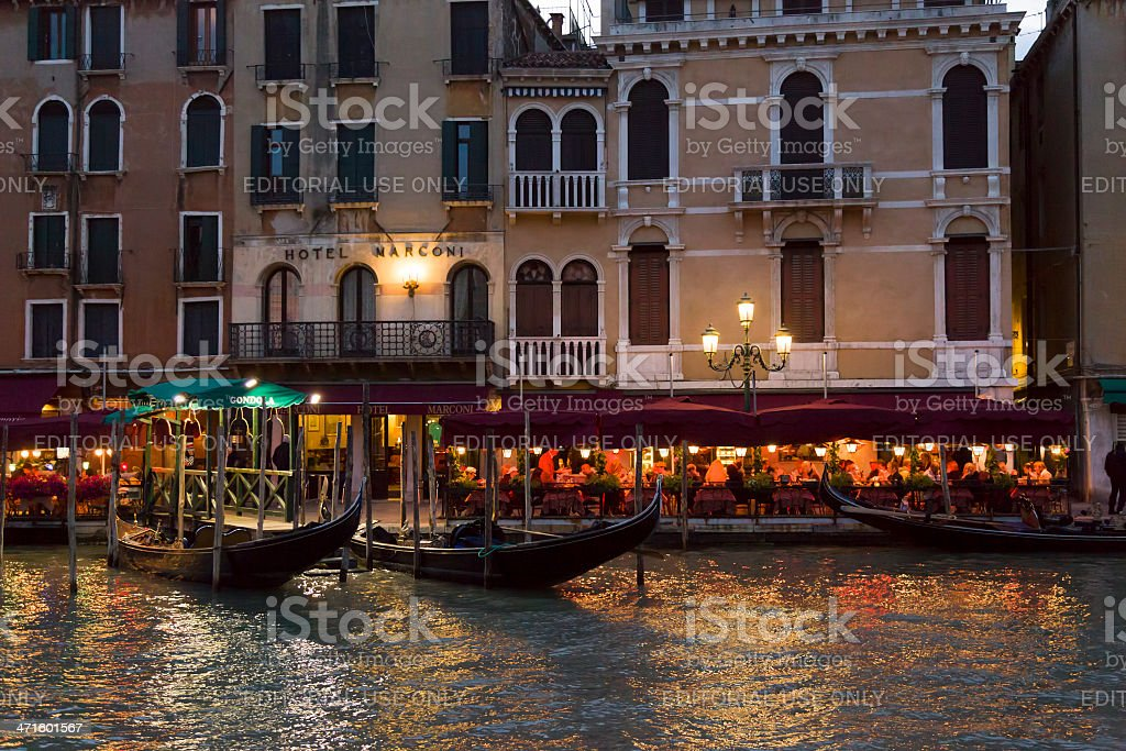 Evening in Venice royalty-free stock photo