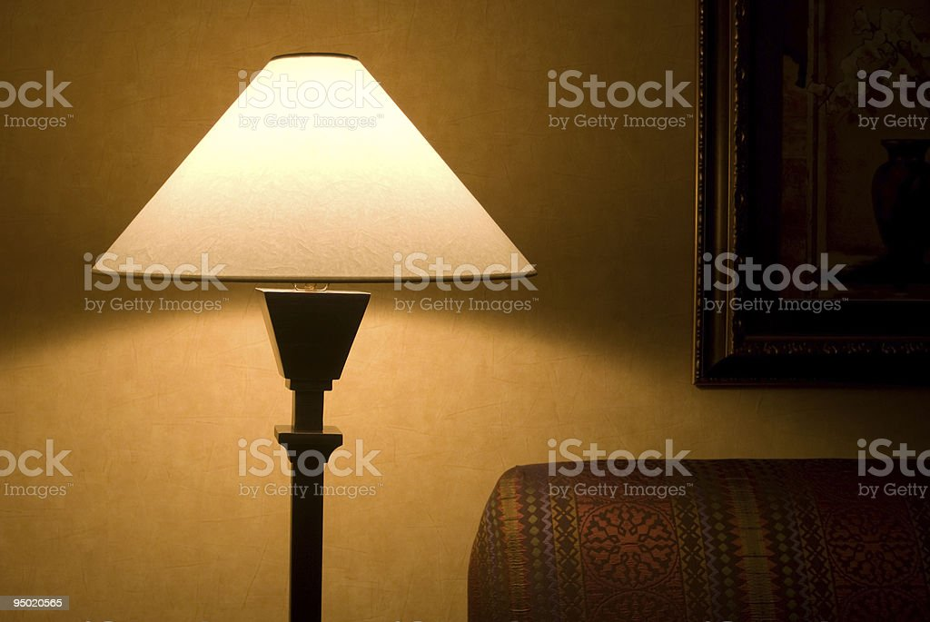 Evening Lamp royalty-free stock photo