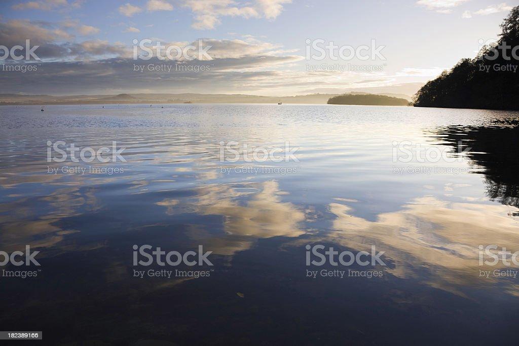 Evening Light On Loch Lomond royalty-free stock photo