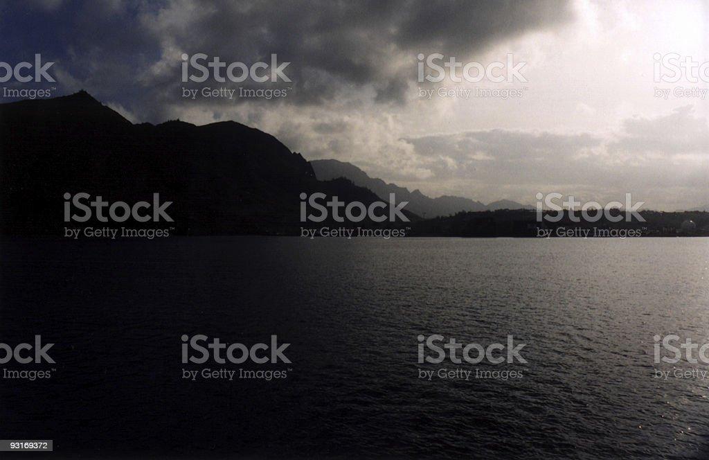 Evening Light stock photo
