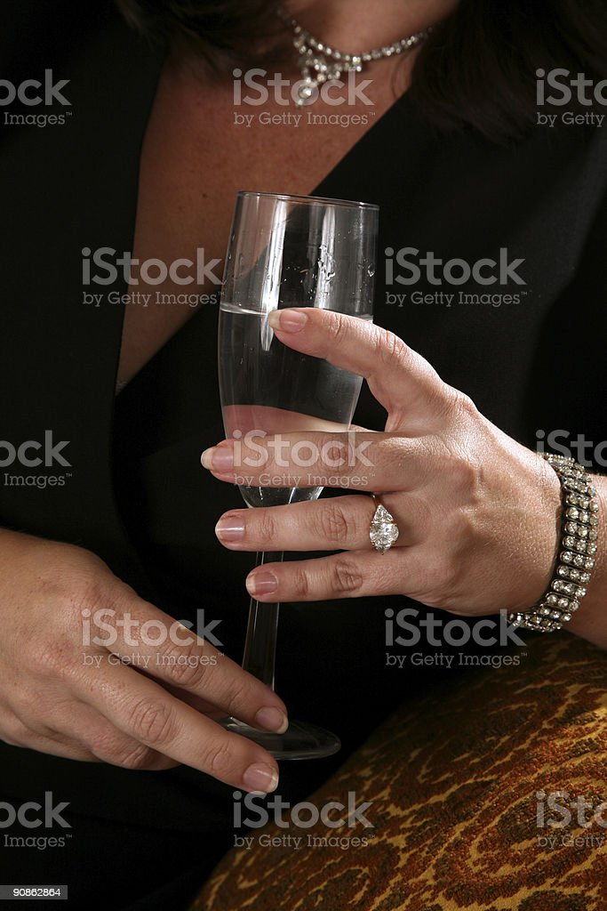 Evening Out royalty-free stock photo