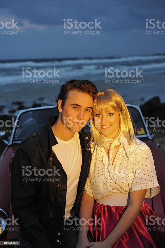 Evening romance royalty-free stock photo