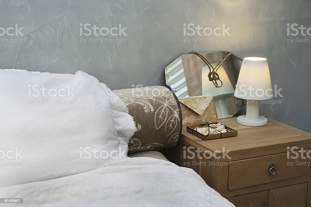 evening sleeping-room royalty-free stock photo