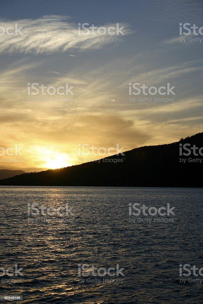 Evening Sunset royalty-free stock photo