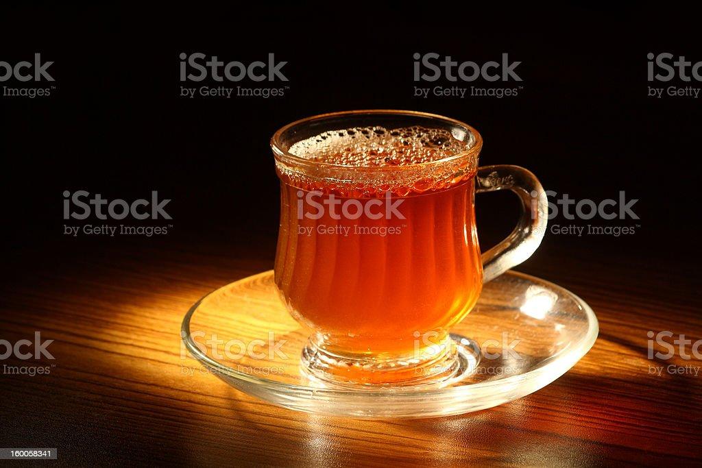 Evening tea royalty-free stock photo