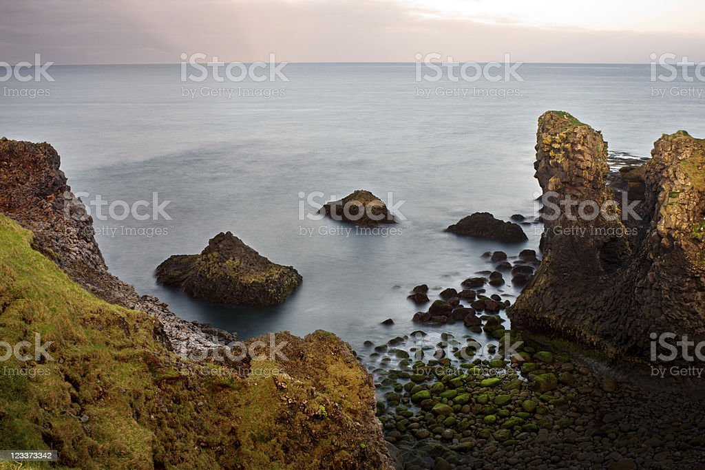 Evening View Of A Rocky Coast royalty-free stock photo