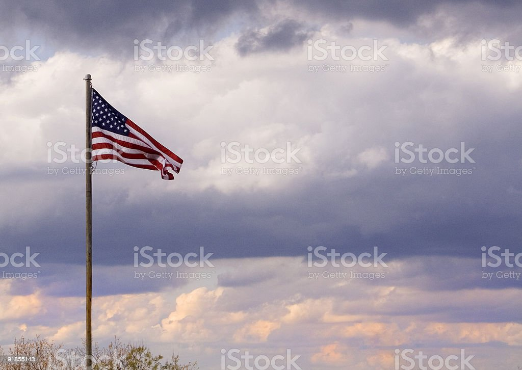 Evening Westerly Breeze royalty-free stock photo