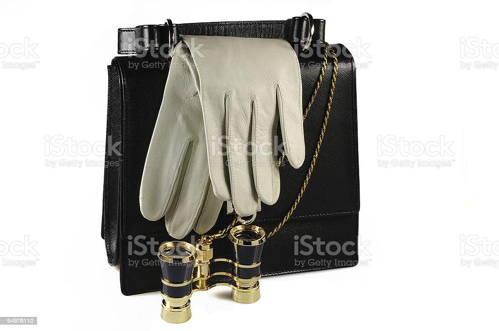 Evening woman bag royalty-free stock photo