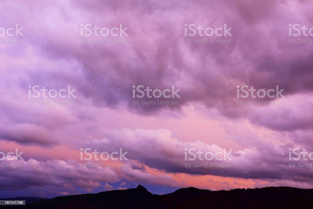 Eveninig sky royalty-free stock photo