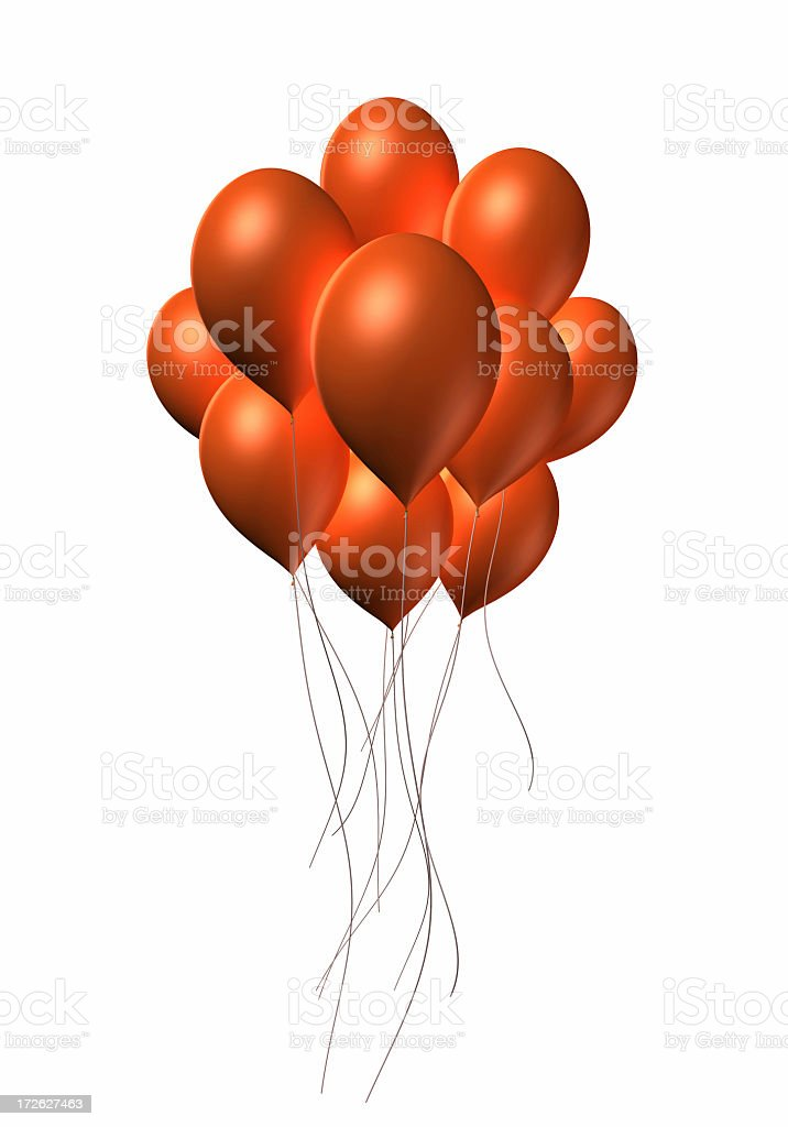 Event Balloons royalty-free stock photo