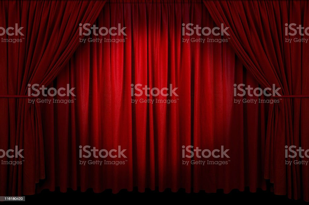 Event Curtain royalty-free stock photo