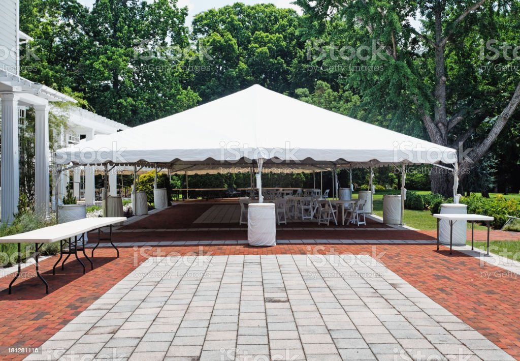 Event Tent royalty-free stock photo