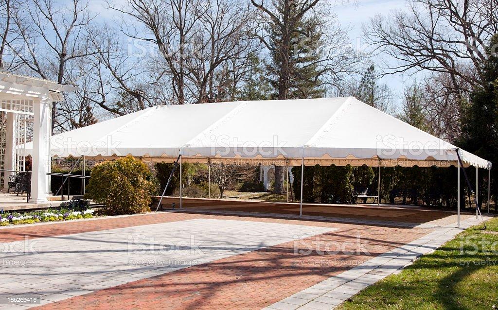 Event Tent stock photo
