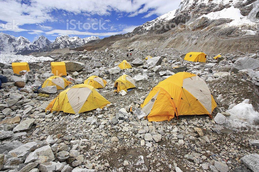 Everest Base Camp. royalty-free stock photo