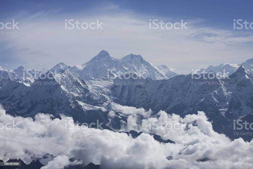 Everest royalty-free stock photo
