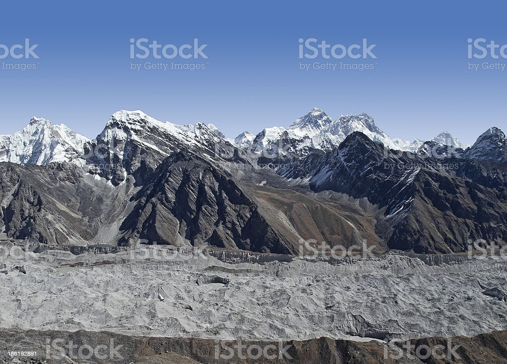 Everest Region. royalty-free stock photo