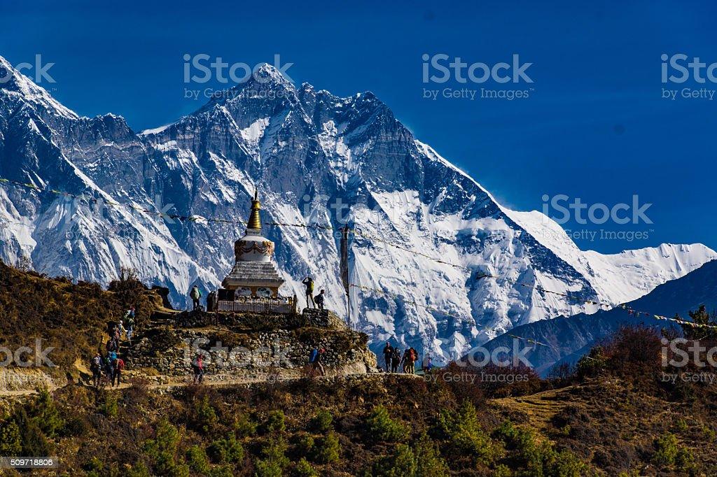 Everest Sagarmatha National Park stock photo