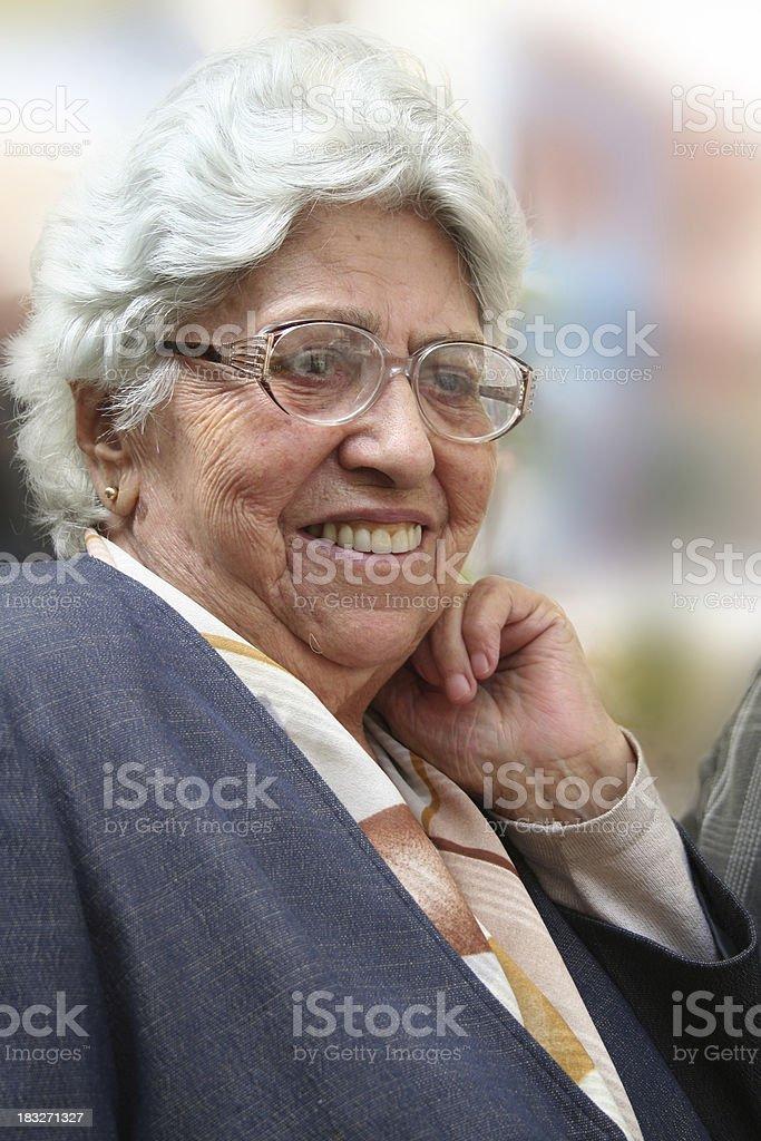 Every age has its beauty stock photo