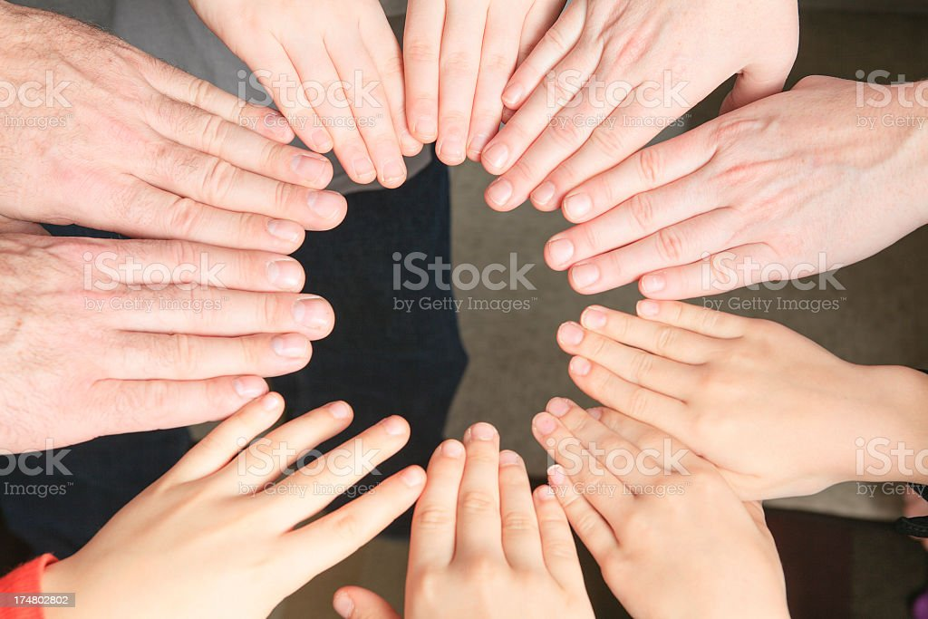 Every Finger royalty-free stock photo