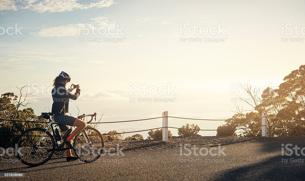 Every journey should end with a photo stock photo