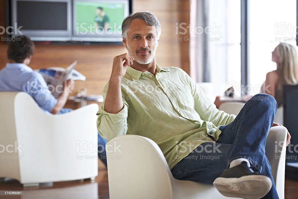 Every office needs a place to relax stock photo
